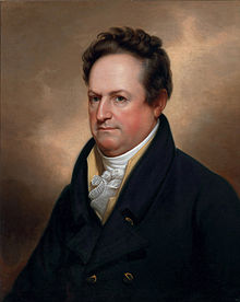Governor DeWitt Clinton was the visionary behind the Erie Canal