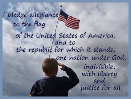 The Pledge of Allegiannce